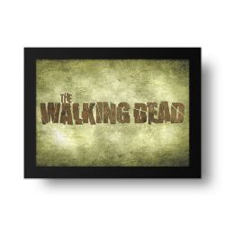 Placa Decorativa The Walking Dead