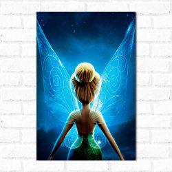Placa Decorativa Tinker Bell - O Segredo das Fadas