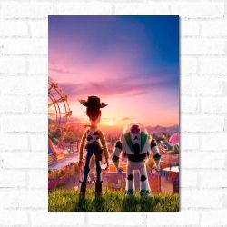 Placa Decorativa Toy Story 2