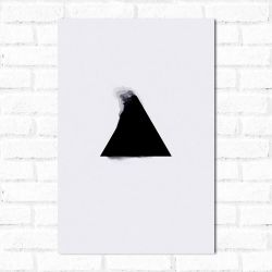 Placa Decorativa Triângulo