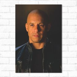 Placa Decorativa Vin Diesel