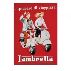 Poster Lambretta
