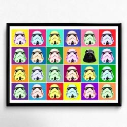 Poster Pop Art Star Wars