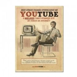 Poster YouTube Vintage