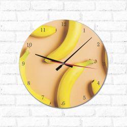 Relógio Decorativos Bananas