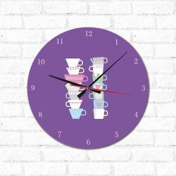 Relógio Decorativo  Chá da Tarde