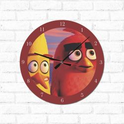 Relógio Decorativo Angry Birds 2