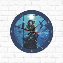 Relógio Decorativo Aquaman