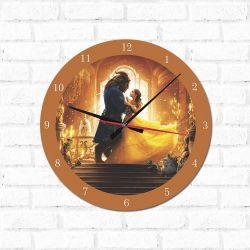 Relógio Decorativo Bela e a Fera 1