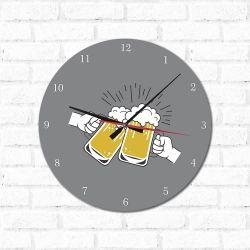 Relógio Decorativo Cerveja