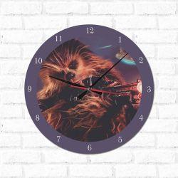 Relógio Decorativo Chewbacca