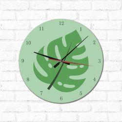 Relógio Decorativo Folha