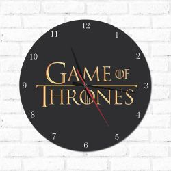 Relógio Decorativo Game Of Thrones