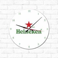 Relógio Decorativo Heineken
