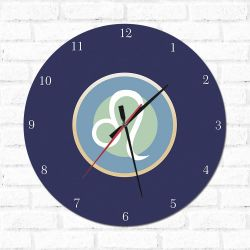 Relógio Decorativo Leão