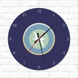 Relógio Decorativo Peixes