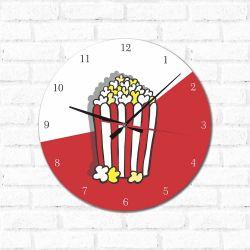 Relógio Decorativo Pipoca
