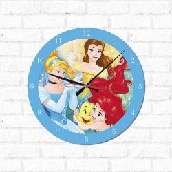 Relógio Decorativo Princesas 1