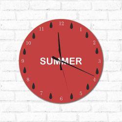 Relógio Decorativo Summer