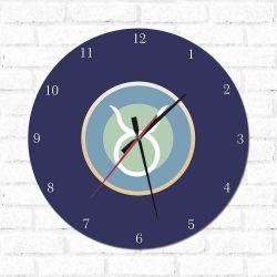 Relógio Decorativo Touro