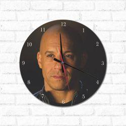 Relógio Decorativo Vin Diesel