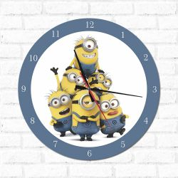 Relógio Minions 1