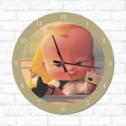 Relógio O Poderoso Chefinho