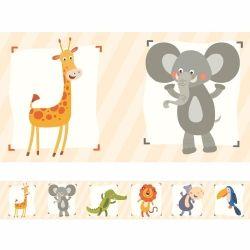 Faixa de Parede Safari