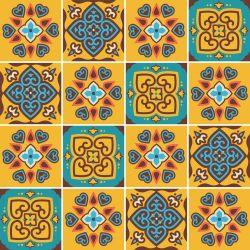 Saldão - Adesivo de Azulejo Amsterdam 15x15cm