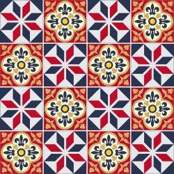 SALDÃO - Adesivo de Azulejo Auma 15x15cm