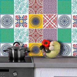 Saldão - Adesivo de Azulejo Bello 15x15cm