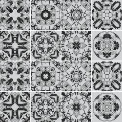 SALDÃO - Adesivo de Azulejo Black Classic 15x15 cm