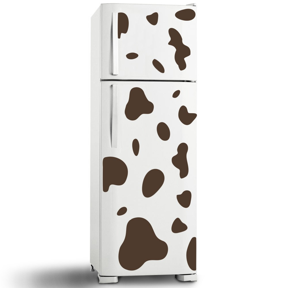 Adesivo de Geladeira Cow