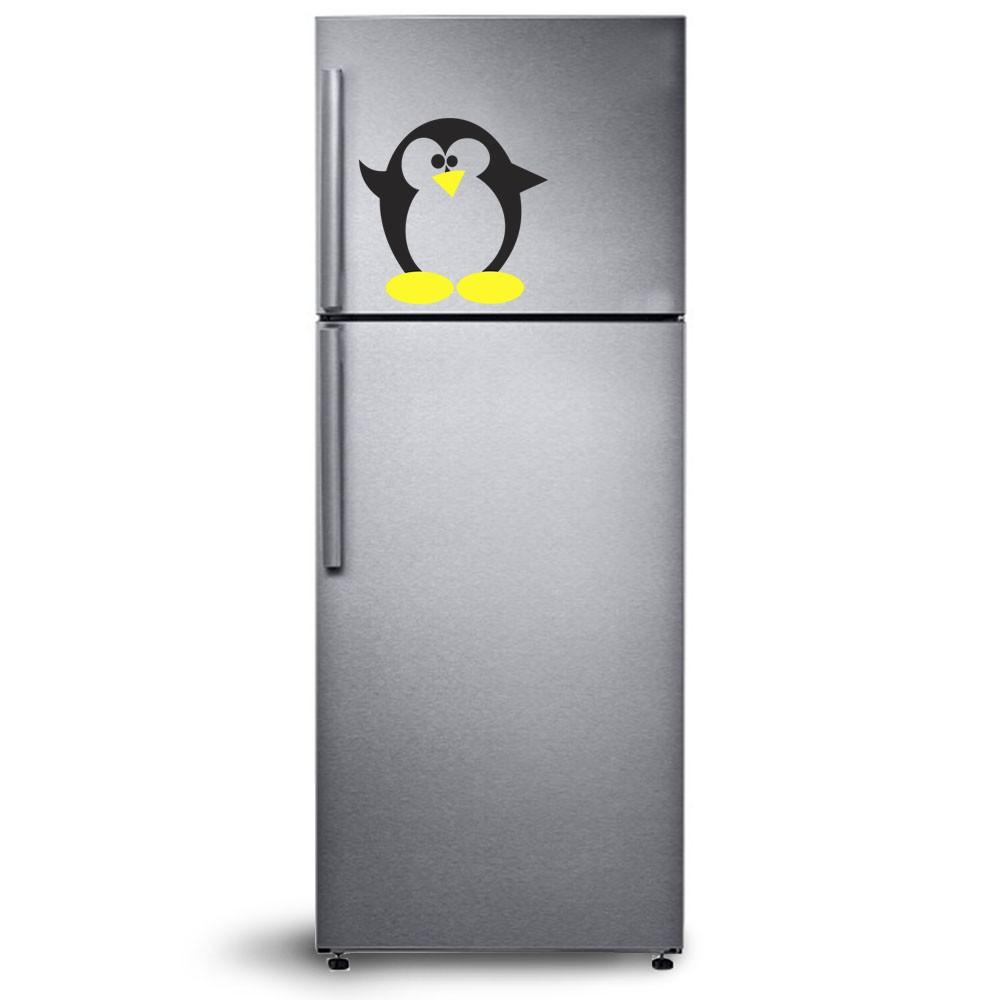 Adesivo de Geladeira Pinguim 02