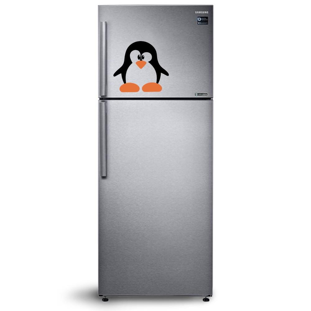 Adesivo de Geladeira Pinguim 03