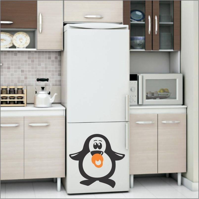 Adesivo de Geladeira Pinguim 11