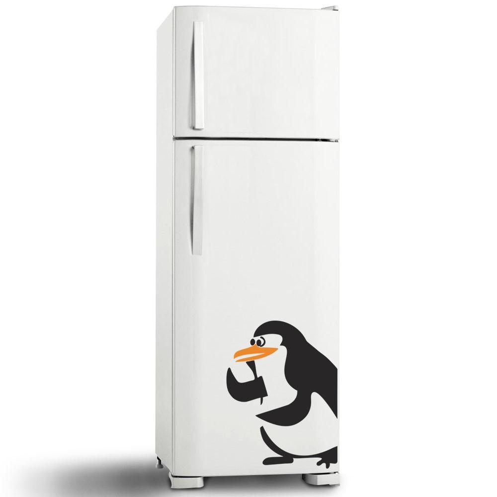 Adesivo de Geladeira Pinguim 25