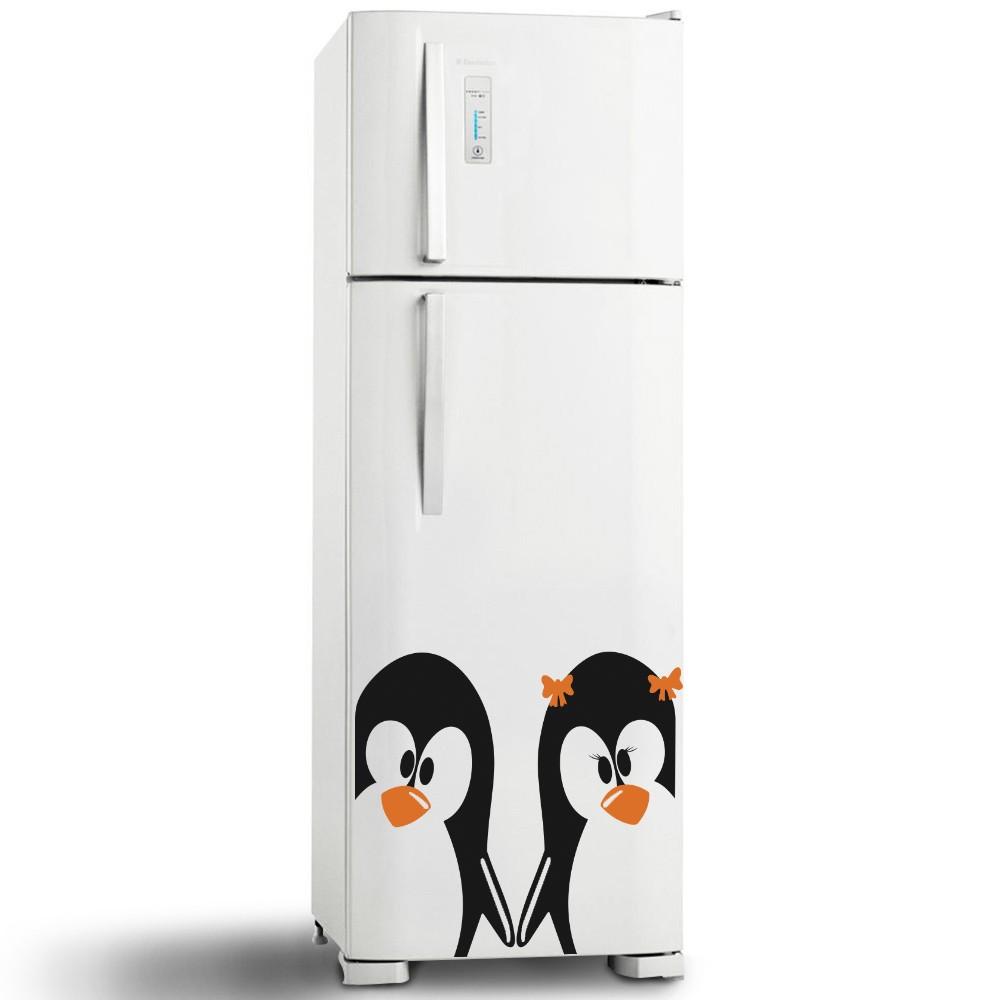 Adesivo de Geladeira Pinguim 4