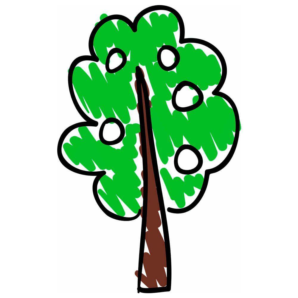 Adesivo de Parede Árvore Desenho