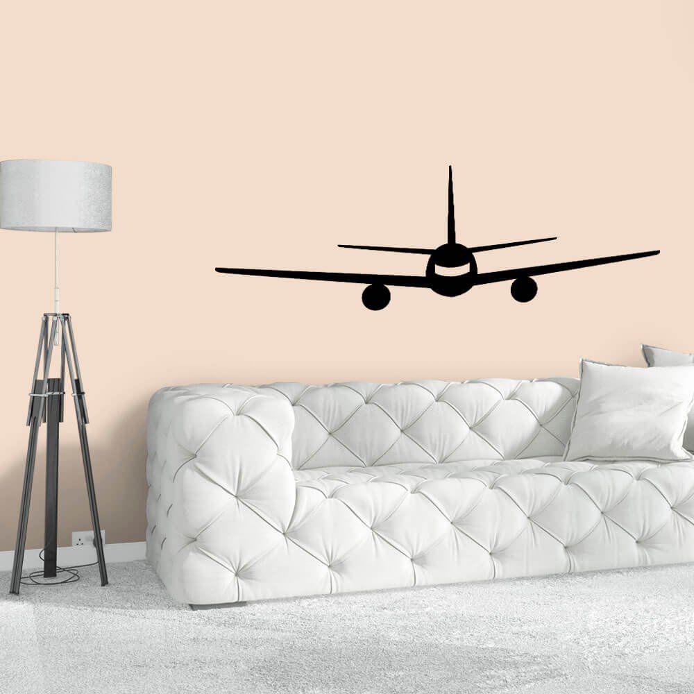 Adesivo de Parede Avião
