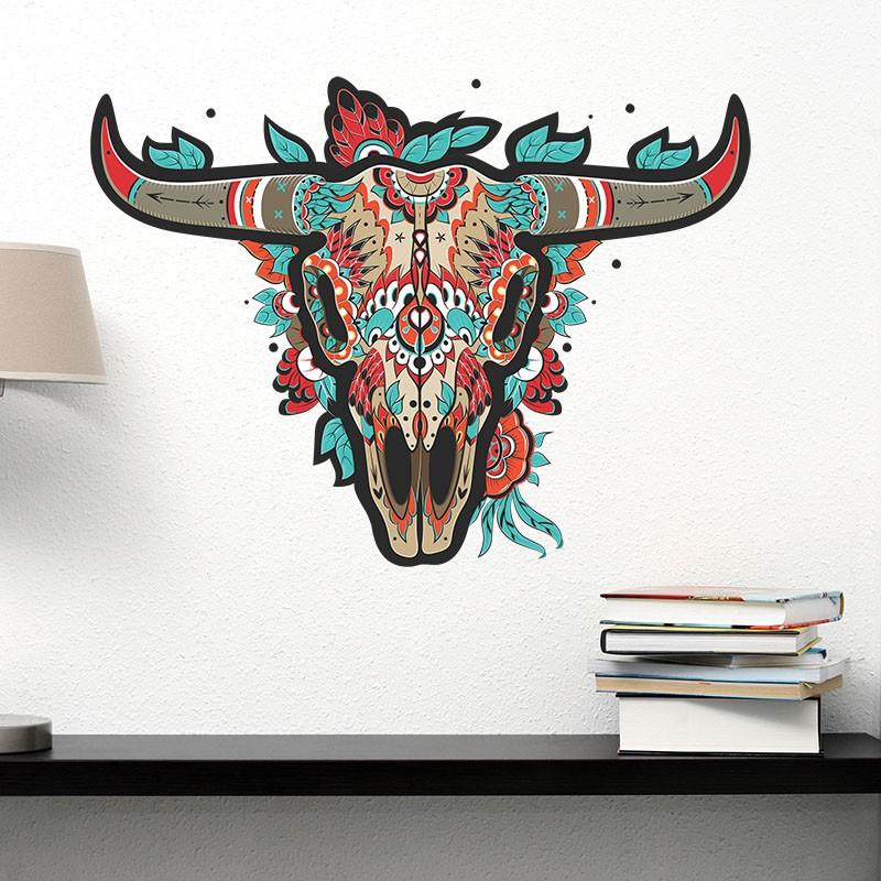 Adesivo de Parede Buffalo Mexican