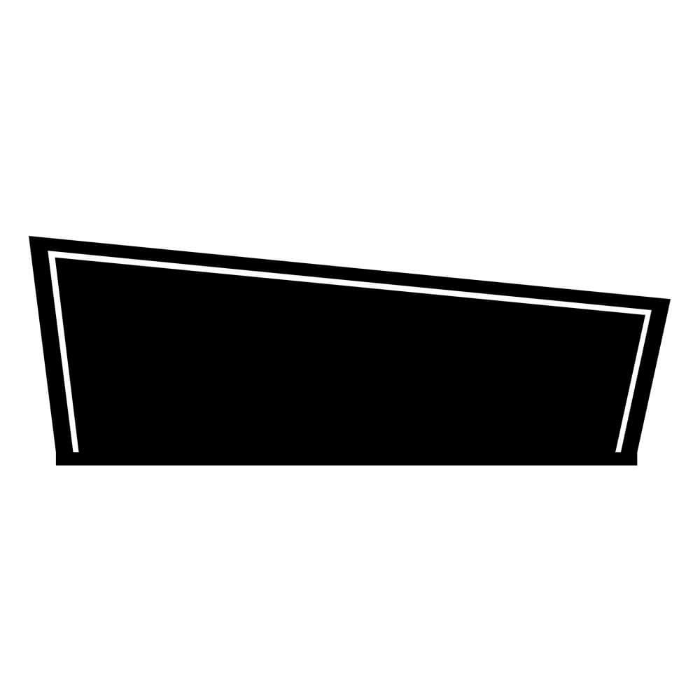 Adesivo de Parede Cabeceira Assimétrica