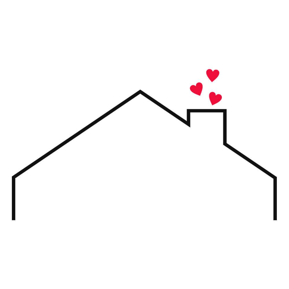 Adesivo de Parede Cabeceira Casa