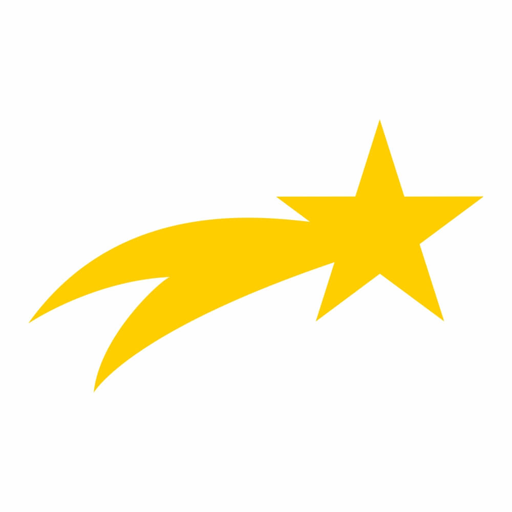 Armario De Cozinha Casas Bahia Pequeno ~ Adesivo de Parede Estrela Cadente Adesivos de Parede e Papel de Parede QCola