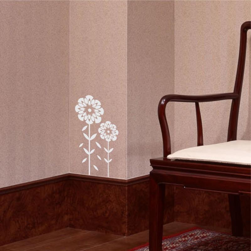 Adesivo de Parede Floral flores