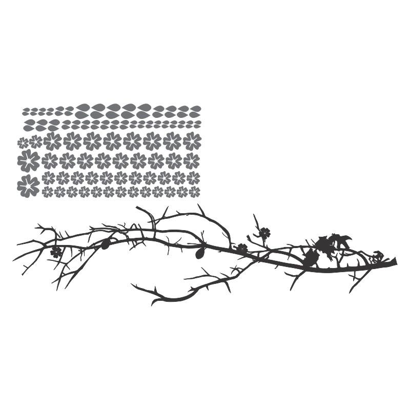 Adesivo de Parede Galho flora
