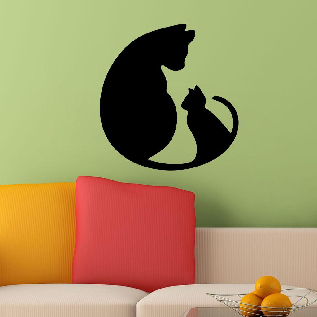 Adesivo de Parede Gatos