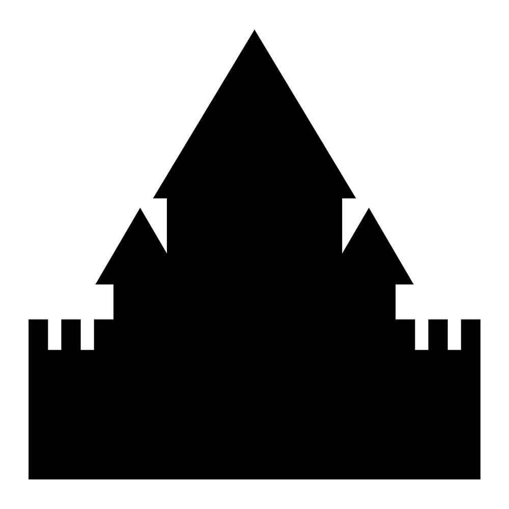 Adesivo de Parede Lousa Castelo