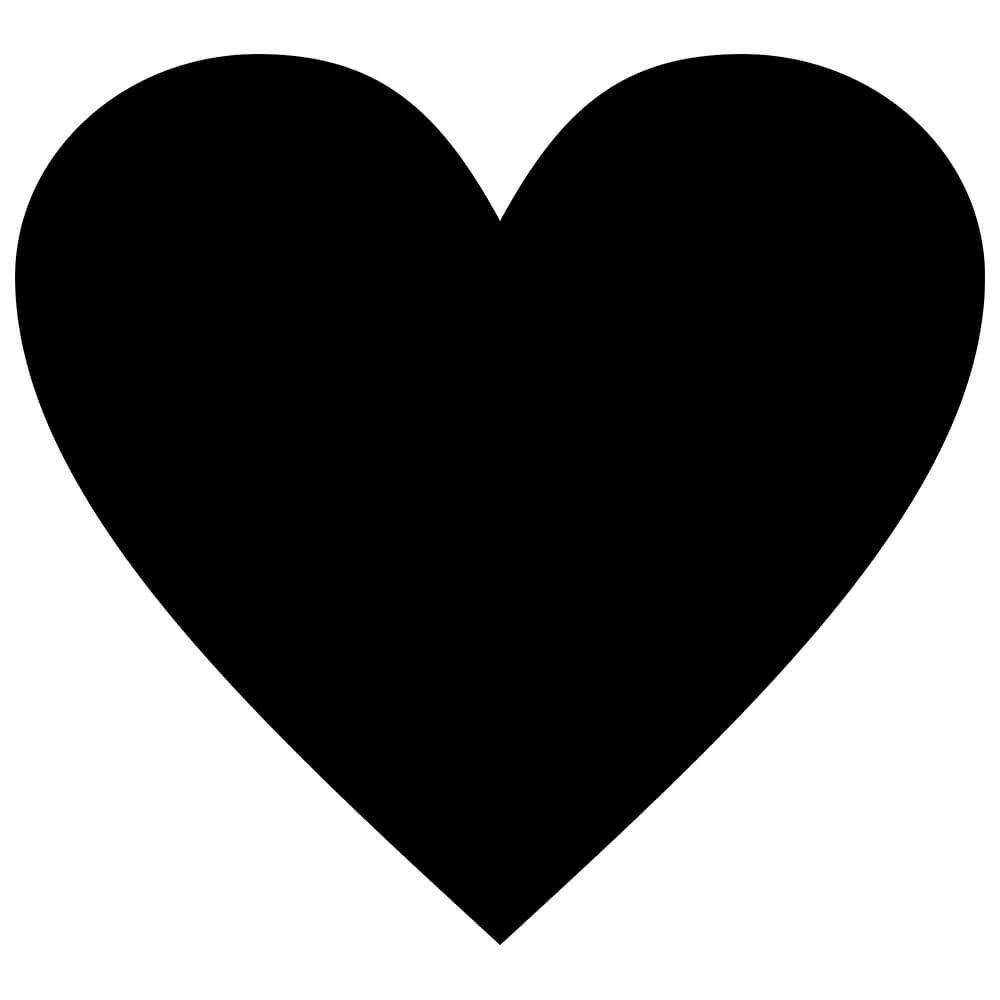 Adesivo de Parede Lousa Coração