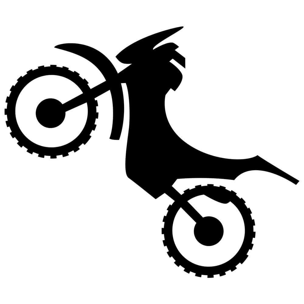 Adesivo de Parede Moto Cross